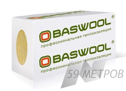 BASWOOL Вент Фасад 80 1200x600x50 (0.216м3)